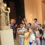 Экскурсия в ГМИИ. Афина