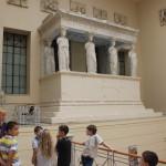 Экскурсия в ГМИИ. Греческий дворик.