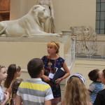 Экскурсия в ГМИИ. Греческий дворик